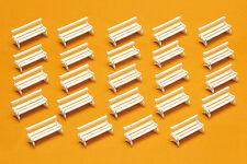 Preiser 17200 Scala H0, Panchine da parco, 24 Stück, Kit di costruzione # in ##