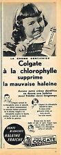 PUBLICITE ADVERTISING 045  1953 COLGATE   dentifrice