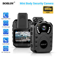 1080P HD Police Body Camera IR Waterproof Night Vision 170° Wide Angle + 64G