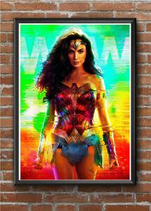 WONDER WOMAN WW84 - A4 Movie Poster Print Wall Art Prints DC Comic Film Cinema