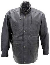 Cappotti e giacche da uomo in pelle parka