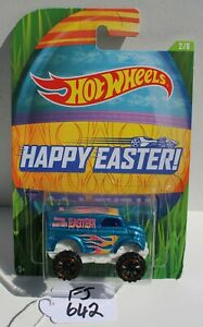 Hot wheels HW Happy Easter Monster Dairy Delivery Blue 2/6 FNQHotwheels FJ642