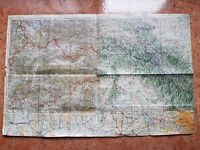 RARE German ww2 axis Flying Maps Plans airforce Luftwaffe Army Fliegerkarte old