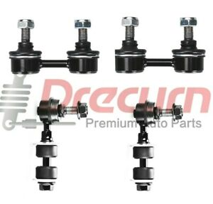4Pcs 2 Front  2 Rear Sway Bar Link Kits For Mitsubishi 3000Gt Eclipse