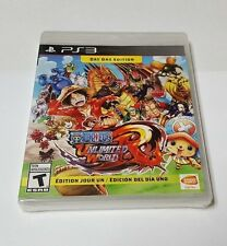 One Piece: Unlimited World Red -- Day One Edition (Sony PlayStation 3, 2014)