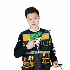 Electrician Carpenter Framer Plumber Craftman Tool Vest Bag