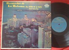CARLOS DIAZ - Recuerto de la Habana W/ Casino de la Playa ORIG CUBA PRESS LP