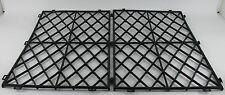 MENSOLA in vetro Tappetini NERI IN PLASTICA AD INCASTRO PUB BAR impilamento MAT ACCESSORI PER BAR PK 50