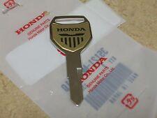 GENUINE OEM TYPE 1 KEY BLANK FOR HONDA VTX1300 VTX 1300 1300S 1300C 1800 1800F