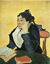 "1960 Art Print ""L'Arlesienne""  by Van Gogh  Free Shipping!"