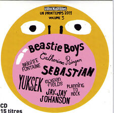 CD CARTONNE 15T BRIGITTE FONTAINE/CATHERINE RINGER/YUKSEK/SOUCHON/SEBASTIAN