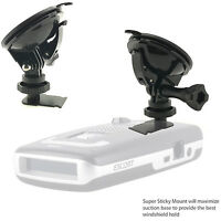 Escort Passport MAX /MAX 2 II Max2 Radar Detector Super Suction Cup Mount Holder