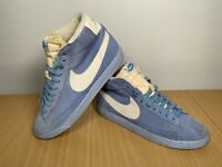 Nike Blazer High Top Blue Trainers Size UK 7 EUR 41