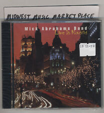 Mick Abrahams - Live In Madrid - Rare OOP UK CD -New MINT & Sealed Fleetwood Mac