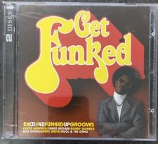GET FUNKED 2CD...40 Funked Up Grooves...James Brown,Curtis Mayfield,Barry White