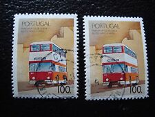 PORTUGAL - timbre yvert et tellier n° 1768 x2 obl (A28) stamp (I)