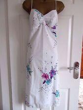 "FABULOUS 100% COTTON  PENCIL DRESS   UK-12 BUST 36"" HIPS 38""  LENGTH 44"" LINED"