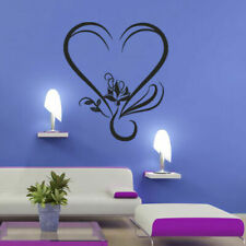 Wall Decal Flower HeLotus Curl Petal Branch Room Yoga bedroom M217