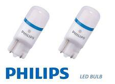 PHILIPS XTREME VISIONE T10 12V 8000K INTERNI AUTO 2 LED LAMPADINE 127998000KX2