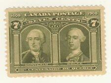 Canada Stamp Scott # 100 7-Cents Quebec Tercentenary MH