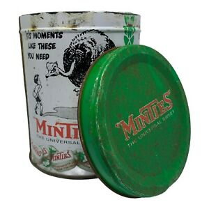 """Vintage Style """"Minties"""" The Universal Sweet """"It's Moments Like These"""" Metal Tin"""
