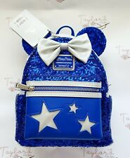 More details for loungefly disney parks wishes sequin mini backpack