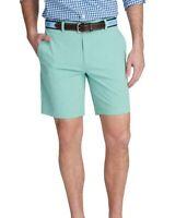 Vineyard vines sea green light green 8in performace breaker shorts Men's size 35