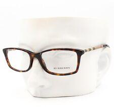 Burberry B 2120 3002 Eyeglasses Frames Glasses Brown Tortoise / Plaid 51-16-135