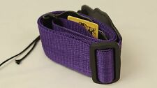 Purple Nylon Guitar Strap for Electric Guitar Bass Acoustic guitars - affordable