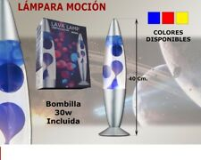 LAMPARA DECORATIVA, MAGMA LAVA DE SOBREMESA 40 CMS- CON CABLE A 220V