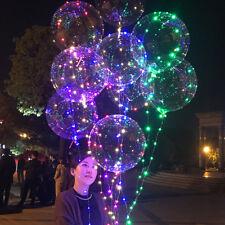 ILLUMINATO A LED palloncini da festa bolla MATRIMONIO COMPLEANNO EVENTO DECORO