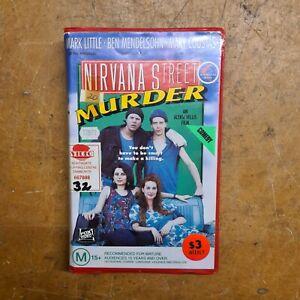 Nirvana Street Murder 1990 Australian PAL VHS Fox Video Clamshell Ex-RENTAL