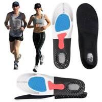 Einlegesohlen orthopädische Gel Fersensporn Sport Arbeitsschuhe Schuh Einlagen