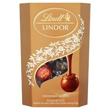 LINDT LINDOR CHOCOLATE ASSORTED TRUFFLES BOX 200g STOCKING FILLER 272581