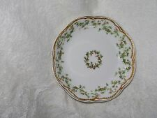 """5 1/2"""" HAVILAND LIMOGES CHRISTMAS  IVY HOLLY BERRIES BERRY BOWL DBL DOUBLE GOLD"""