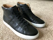Greats Royale Nero Black Leather High Top Men's 10.5