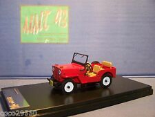 1/43 Ixo-PremiumX (PRD365) Jeep-willys CJ3B – 1953