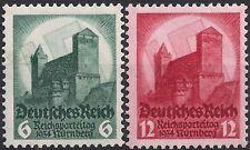 Germany's Third Reich Mi# 546-547 MH 1934 Nuremburg Congress  *