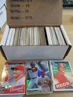 373 Card Reds Baseball Lot - 1985 Pete Rose - Most Years Included (1984 - 2018)