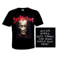 DESTRUCTION  official T-Shirt  CURSE THE GODS  Big Teutonic Four Of Thrash Metal