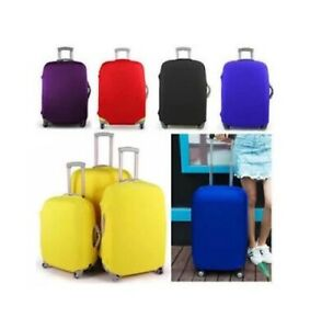 Travel Suitcase Luggage Cover Protector Elastic Stretchy Cover Assorted Colours