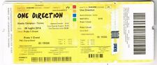 Concert one direction whole ticket of 06 July 2014