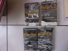 lot Jean Luc Le Pogam série LES MANGE REVE tomes 1 2 3 4 tbe grand dérèglement..