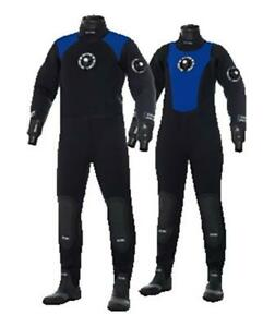 Bare CD 4 PRO Dry Dry Suit Scuba Diving Gear Cold Water Equipment Size MS