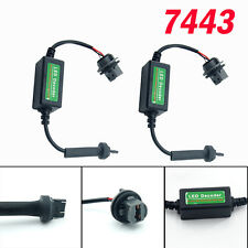 2X 7443 T20 LED Decoder Adaptor Warning Canceller Error Free Anti Canbus