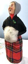 Byers' Choice Handmade Doll -- CAROLING WOMAN -- 1987