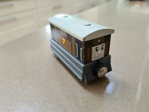 Learning Curve Thomas & Friends Wooden Toby Magnetic Train - Brio Compatible
