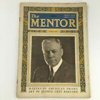 VTG The Mentor Magazine March 1923 American Playwright Augustus Thomas Newsstand