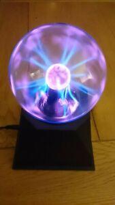 Plasma Static Touch Sensor Control Desktop Lamp