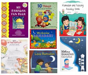 RAMADAN FASTING ISLAMIC MUSLIM CHILDREN KIDS GIFT BOOK